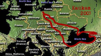 Wyprawa Rowerowa Na Kaukaz Rowerem I Wokol Morza Czarnego